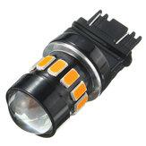 3157/1157 5630 puce LED voiture clignotant ampoule de frein jaune ambre