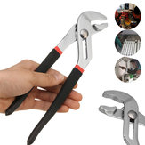 6/8/10/12 Inch Water Pump Pliers Plumbers Slim Jaw Pipe Wrench Grips Multifunction