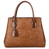 女性のクロコダイルハイエンドビンテージPUレザーハンドバッグショルダーバッグ