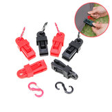 Outdoor Plastic Camping Tent Rope Clamp Buckle Clip With 8-Shaped Buckle Tent Accessories