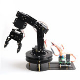 DIY 6DOF RC Robot Arm Manipulating Robot Arm With Servos For Arduino STM Micro:bit