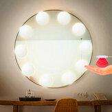 2/6/10/14 Glühbirnen Hollywood Style LED Vanity Dimmable Mirror Lamp Lights Satz für Make-up