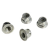 4PCS Xinlehong Q901 Q902 Q903 1/16 RC Spare Metal Wheel Locknut WJ02 Car Vehicles Model Parts