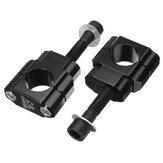 Pair 1 1/8inch 28mm Billet CNC HandleBar Mount Clamp Riser For Honda Kawasaki Suzuki