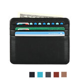 Honana HN-PB4 Leather Slim Credit Card Case Holder Money Clip Cards Organizer