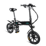 [Direto da UE] FIIDO D1 10.4Ah 36 V 250 W 14 Polegadas Bicicleta Ciclomotor Dobrável 25 km / h Max 60 KM de Bicicleta Elétrica de Milhagem