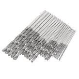 20 stks 1,0 / 1,5 / 2,0 / 2,5 mm diamant gecoate spiraalboren set voor glas metselwerk beton boren