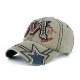 Männer Damen Washed Cotton Einstellbare Sun Baseball Hüte Dad Cap