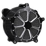 Harleyソフテイルツーリングダイナ用のブラックエアクリーナー吸気フィルターシステム