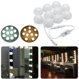 3M Dimmable Hollywood Style Jaune Blanc LED Vanity Miroir Lumières pour Maquillage Dressing Table DC12V