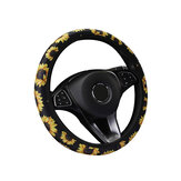 Car Steering Wheel Cover Sunflower Flower Without Inner Ring Elastic Belt Handle