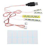 Mini DIY LED Flash ضوء Kit for Lego 21310 Fishing Store اللبنات نموذج