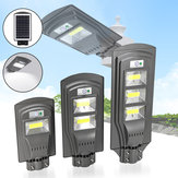 20W 40W 60W solare Powered PIR Sensore di movimento Street lampada Outdoor Garden Yard Light