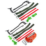 Tree Climbing Gear Spike Set Climbing Trees Buckle Wood Pole Buckle Safe Belt