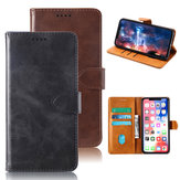 Bakeeey Flip Card Holster Shockproof PU Leather Protective Case For Doogee N10