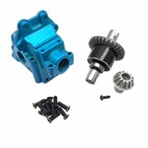 Wltoys 144001 1/14 Upgrade Metal Gear Case+Differential+Gear RC Car Parts