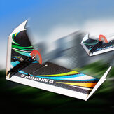 Dancing Wings Hobby DW actualizado Rainbow Ⅱ 1000mm Wingspan EPP Flying Wing RC KIT de avión