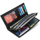 26 Card Slots Secretary Wallet Business Cool Wallet Long Purse for Men