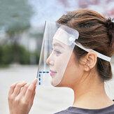 مكافحة رغوة سبلاش والدليل على مكافحة الضباب وجه شفاف قناع الوجه درع