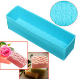 Rose Toast Silicone Soap Mold Loaf Cake Baking Bread Tools DIY Chocolate Mould