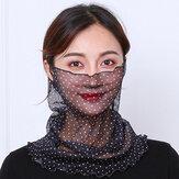 Protezione solare per donne Multiuso UV Protezione Estate Copertura esterna Viso Collo Protezione Traspirante Viso sottile Maschera Sciarpa di seta
