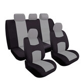 Car Seat Covers Protecter Full Set for Auto SUV Front Rear Seats Headrests