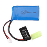PXtoys 7.4V 1100mAh 25C 2S Li-ion البطارية Odakiya Plug for 9300/9301/9302/9303/9303-1 1/18 Rc Car Parts PX9300-32