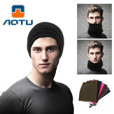 AOTU AT8723 Fleece Head Sjaal Double Warm Collar Movement AgainstThe Hood Winter Multifunctionele