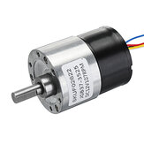 JGB37-3525 DC 12V Brushless Motor 107rpm Gear Reduction Motor 37MM Geared Motor