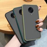 Bakeey voor Xiaomi Poco F2 Pro Case Armor Schokbestendig Anti-fingerprint Mat Doorschijnend Hard PC & Soft TPU Edge Protective Case Niet-origineel