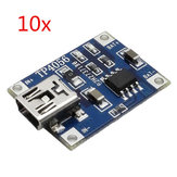 10X TP4056 1A Batterie Lipo Carte de Charge Module de Chargeur Mini USB Interface