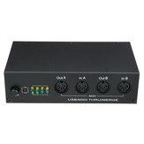 HiFing USB MIDI Music Editing Box MIDI 4 in 4 out MIDI Merge Pplitter Controller