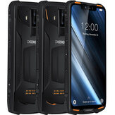 DOOGEE S90C Global Bands IP68 Waterproof 6.18 inch FHD+ NFC 5050mAh 16MP+8MP AI Dual Rear Cameras 4GB 64GB Helio P70 4G Smartphone
