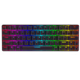 BlitzWolf® BW-KB1 Wireless bluetooth Keyboard Gateron Switch RGB 63 Keys NKRO Type-C Mechanical Gaming Keyboard