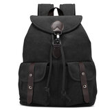 ATailorBird Casual Travel Large Capacity Multi-Pockets Canvas Storage Bag Backpack for iPad below 15 inch