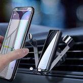 MCDODO 2020 Nouvelle liaison par gravité Verrouillage automatique Ventilation Support de téléphone de voiture Support de voiture Rotation à 360 degrés pour téléphone intelligent de 4,0 à 7,0 pouces