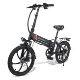 SAMEBIKE 20LVXD30 10.4Ah 48V 350W 20 in Folding Electric Bike 35km/h Top Speed 80km Mileage Max Load 120kg E-bike City Bike
