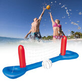 Inflatable Water Volleyball Kit Set Swimming Pool Floating Ball + Net Summer Outdoor Water Playing Game Set