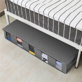 O armazenamento grande Bolsa da cama da grande capacidade calça o não tecido do recipiente da roupa da edredão