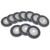 10pcs 100x12x16mm Angle Grinder Fiber Nylon Buffing Polishing Wheel Angle Grinding Sanding Disc