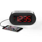 LED Elektronische Wekker Groot Scherm Digitale Display Tafel Desktop Elektronische Snooze Klokken USB Opladen voor Thuiskantoor Gebruik
