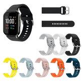 Zachte siliconen horlogeband Horlogeband voor Haylou LS02 BW-HL1 BW-HL2 BW-HL1T BW-HL1Pro