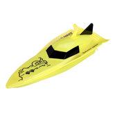 Crie brinquedos 100A4 Mini 2.4G barco elétrico RC Modelo RTR interno Brinquedos para crianças