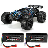 JLB Racing CHEETAH w/ 2 Battery 120A Upgraded 1/10 2.4G 4WD 80km/h Brushless RC Car Truggy 21101 RTR Model