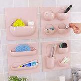 الجدار تخزين سلة الحمام دراسة المطبخ الإبداعية شماعات حامل صندوق منظم متعددة الوظائف