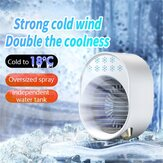 Bakeey 300ml Portable Air Conditioner Mini USB Fan Air Cooler Humidifier Desktop Cooling Conditioning Purifier For Home Office Room
