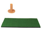 Achtertuin Golf Oefenmat Training Hitting Practice Tee Holder Gras Mat