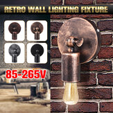 E27 Industrial Retro Vintage Wall Light Fixture Iron Sconce Home Lamp Room Decor AC85-265V