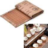 Bamboo Tea Ware Mat Taca na herbatę Cup Mat Coaster Kungfu Tea Accessaries