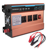 6000W Peak Solar Power Inverter DC 12V / 24V zu AC 220V Wandler
